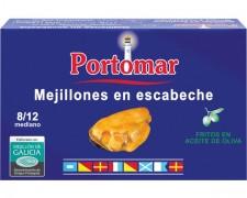 Portomar - Mejillón en escabeche 10/12 ria gallega