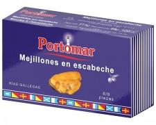 Portomar - Mejillón en escabeche 6/8 ria gallega