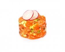 Tartar salmón